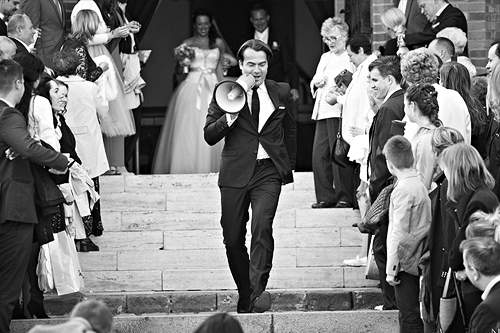 Master of Ceremonies  church wedding