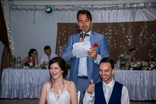 Gabor Herendi English wedding